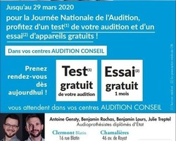 Audition Conseil - Clermont-Ferrand - JOURNEE NATIONALE DE L'AUDITION